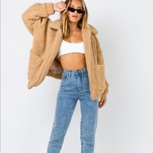 i am Gia teddy pixie coat